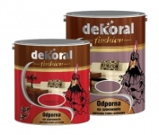 Dekoral Akrylit-W Fashion Collection Czerwień Flamenco 2,5L