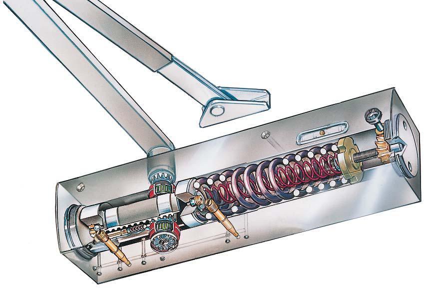 Samozamykacz Geze Ts4000 Drzwiowy G 243 Rny Srebrny