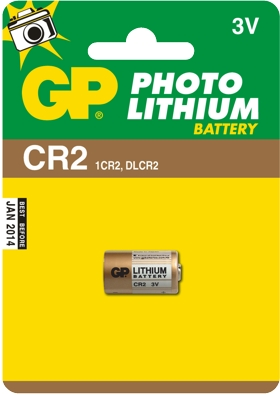 GP Bateria litowa CR2 BL/1 Photo Lithium