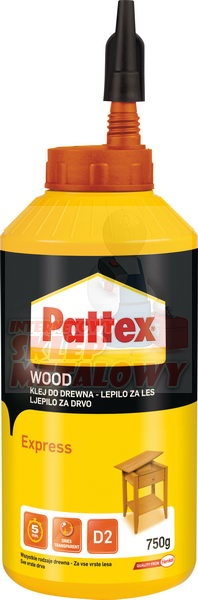 PATTEX Klej do drewna Ekspress 750ml