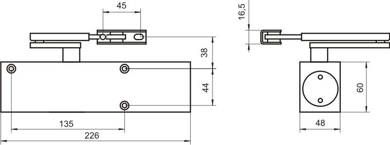 samozamykacz geze ts2000v bc drzwiowy g rny srebrny internetowy sklep metalowy. Black Bedroom Furniture Sets. Home Design Ideas
